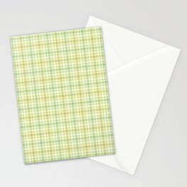 Beautiful plaid 1 Stationery Cards