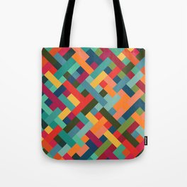 Weave Pattern Tote Bag
