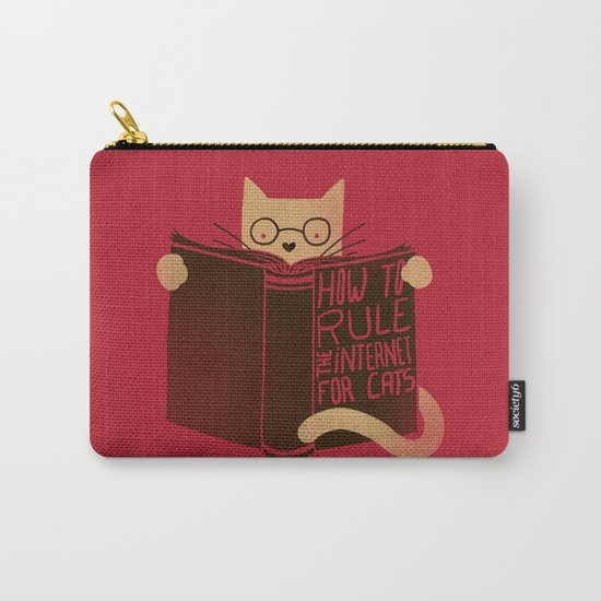 How to Rule the Internet (for cats) Carry-All Pouch