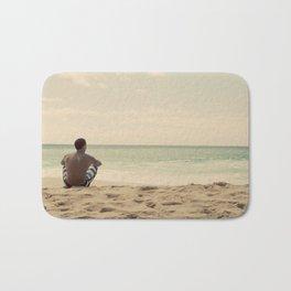 Lonely Man (Hawaii) Bath Mat