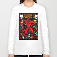 obey Long Sleeve T-shirts featuring OBEY! by sasha alexandre keen