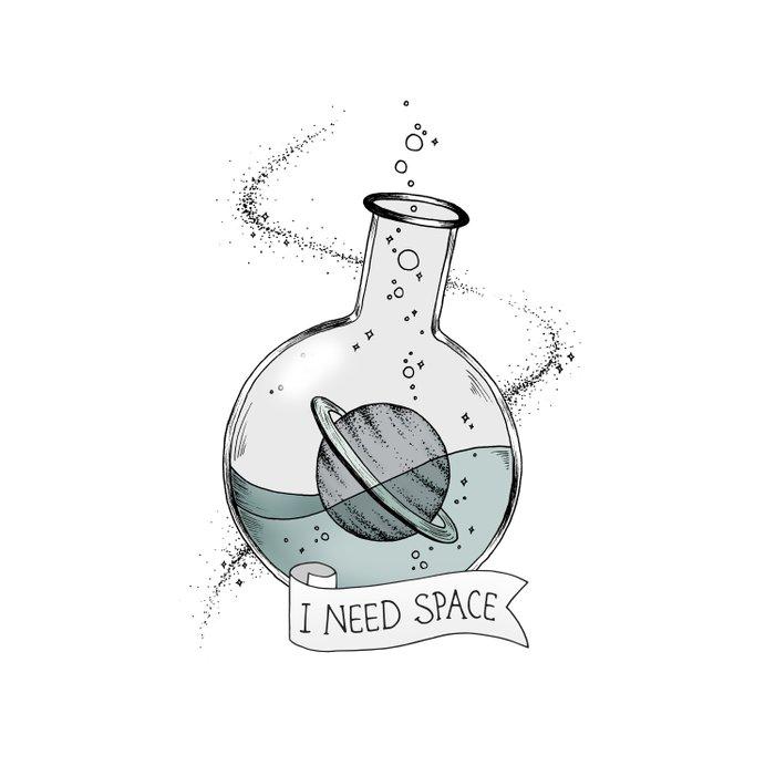 I Need Space Comforters