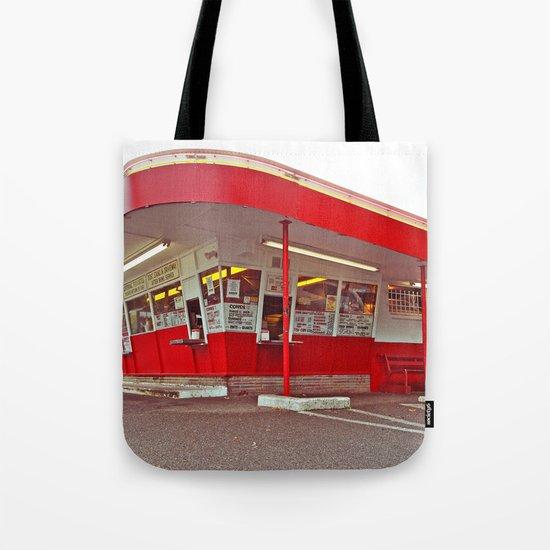 Classic American Drive-Thru Tote Bag