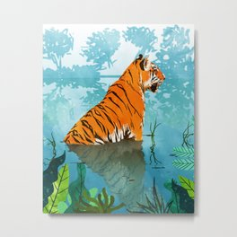 Tiger Creek Metal Print
