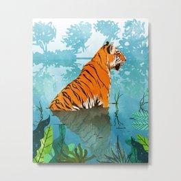 Tiger Creek Metal Print