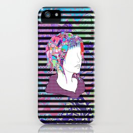 Extroversion Dye iPhone Case