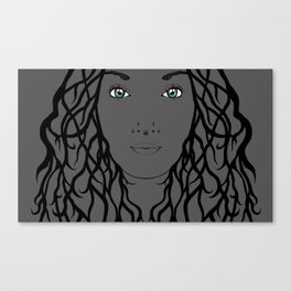 Nieta Galaxy Eyes Canvas Print