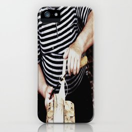 The artisan while working iPhone Case