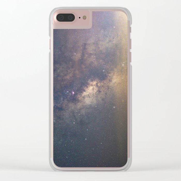 Sagittarius and the Galactic core Clear iPhone Case