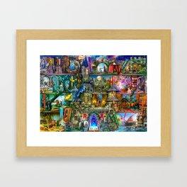 Once Upon a Fairytale Framed Art Print
