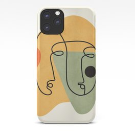 Abstract Faces 19 iPhone Case