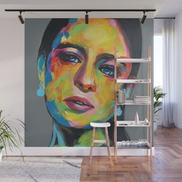 Emilia Clarke by ilya konyukhov (c) Wall Mural