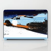 porsche iPad Cases featuring PORSCHE 917 -  by Michele Leonello