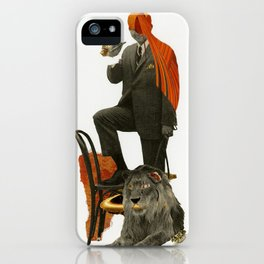 Alpha iPhone Case