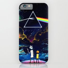 The dark side of a man and a boy iPhone Case