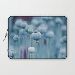 Big blue Poppy Capsules Laptop Sleeve