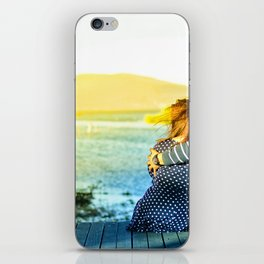 retreat at the beach iPhone Skin