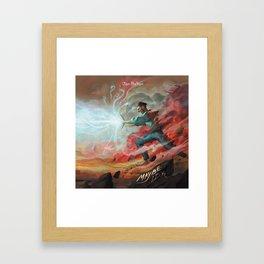 jon bellion superheroes tour 2019 2020 simukasama Framed Art Print