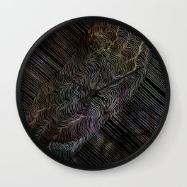 Constellation Rift Wall Clock
