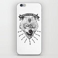 Born to kill iPhone & iPod Skin