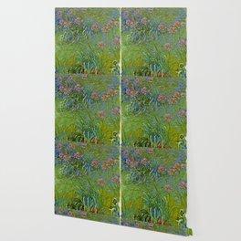 """Claude Monet """"Agapanthus Flowers"""" Wallpaper"""