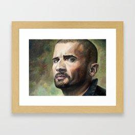 Lincoln Burrows Framed Art Print
