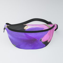 Tropical Island-Style Poetic Flowers of Elegance Fanny Pack