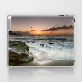 Sunset Over the Rocks Laptop & iPad Skin