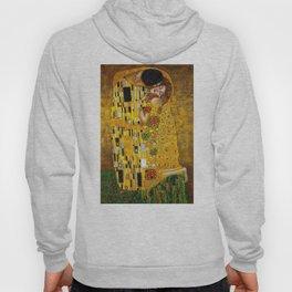The Kiss Painting Gustav Klimt Hoody