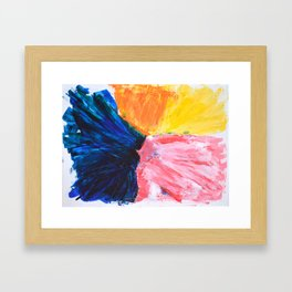 Abstract No. 3 Framed Art Print