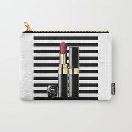 MAKEUP PRINT Fashion decor Wall art Fashion Illustrationl Beauty Modern Fashionista Print Dorm Room  Carry-All Pouch