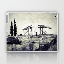 Vincent Van Gogh - Drawbridge at Arles 2 (Vintage) Laptop & iPad Skin