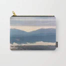 Snow covered italian Apennine Mountains Carry-All Pouch