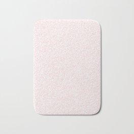 Spacey Melange - White and Light Pink Bath Mat