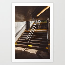 Brooklyn Subway II Art Print
