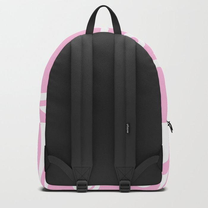 Abstract dots and circles - abstract pattern - pink #Society6 Backpack
