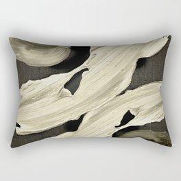 """""""Scandinavian Japanese Abstract"""" Rectangular Pillow"""
