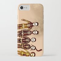 misfits iPhone & iPod Cases featuring Misfits by colleencunha