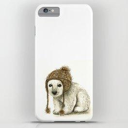 Polar Bear Cub iPhone Case