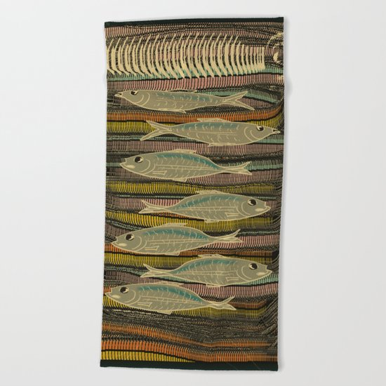 Serendipity / Herrings 1 Beach Towel
