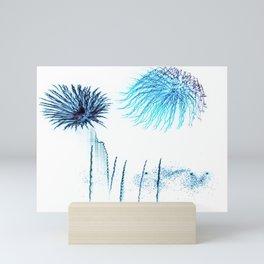 Deep Sea Underwater Love Mini Art Print