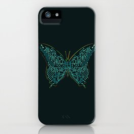 Mechanical Butterfly iPhone Case