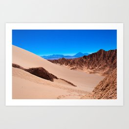 Atacama Dune Art Print