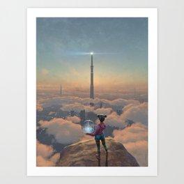 The Beacon Art Print