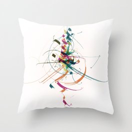 50 shades of colour Throw Pillow