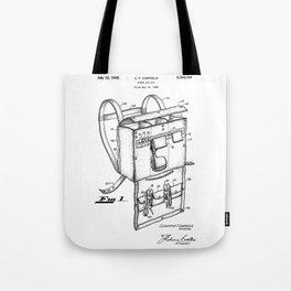 patent art Campiglia First Aid kit 1942 Tote Bag