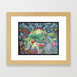 Fanta Seas: Syren Framed Art Print