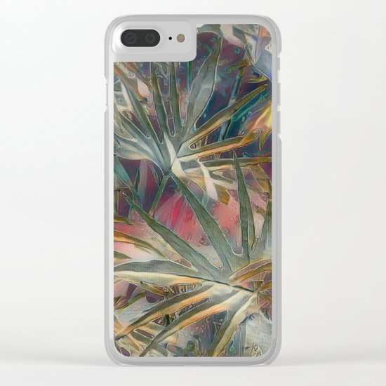 Loving Life Clear iPhone Case