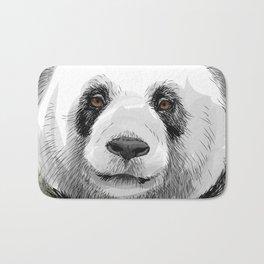 Sketch Panda Bath Mat
