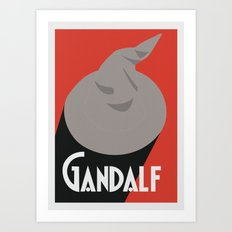 Gandalf Beer Art Print